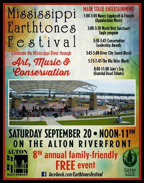 Mississippi Earthtones Festival 9-20-14