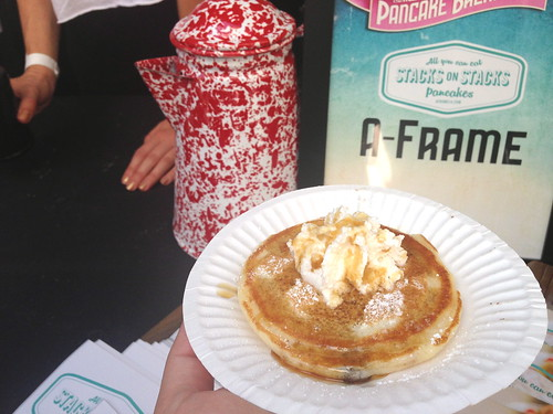 A-Frame at the LA Weekly Pancake Breakfast