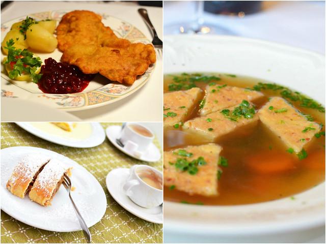 Austrian food montage 3