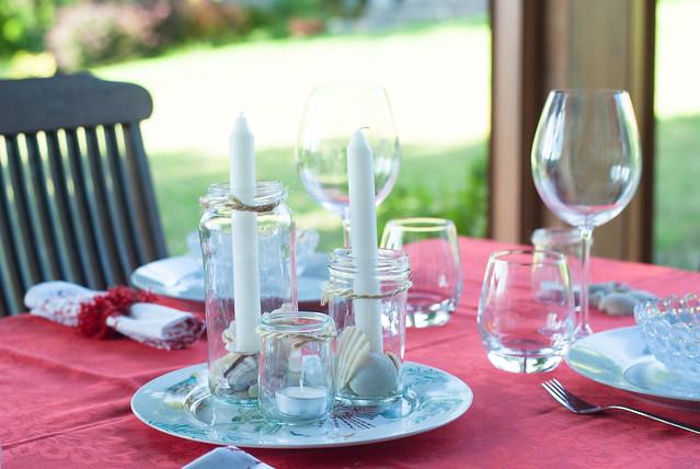 mesa conchas