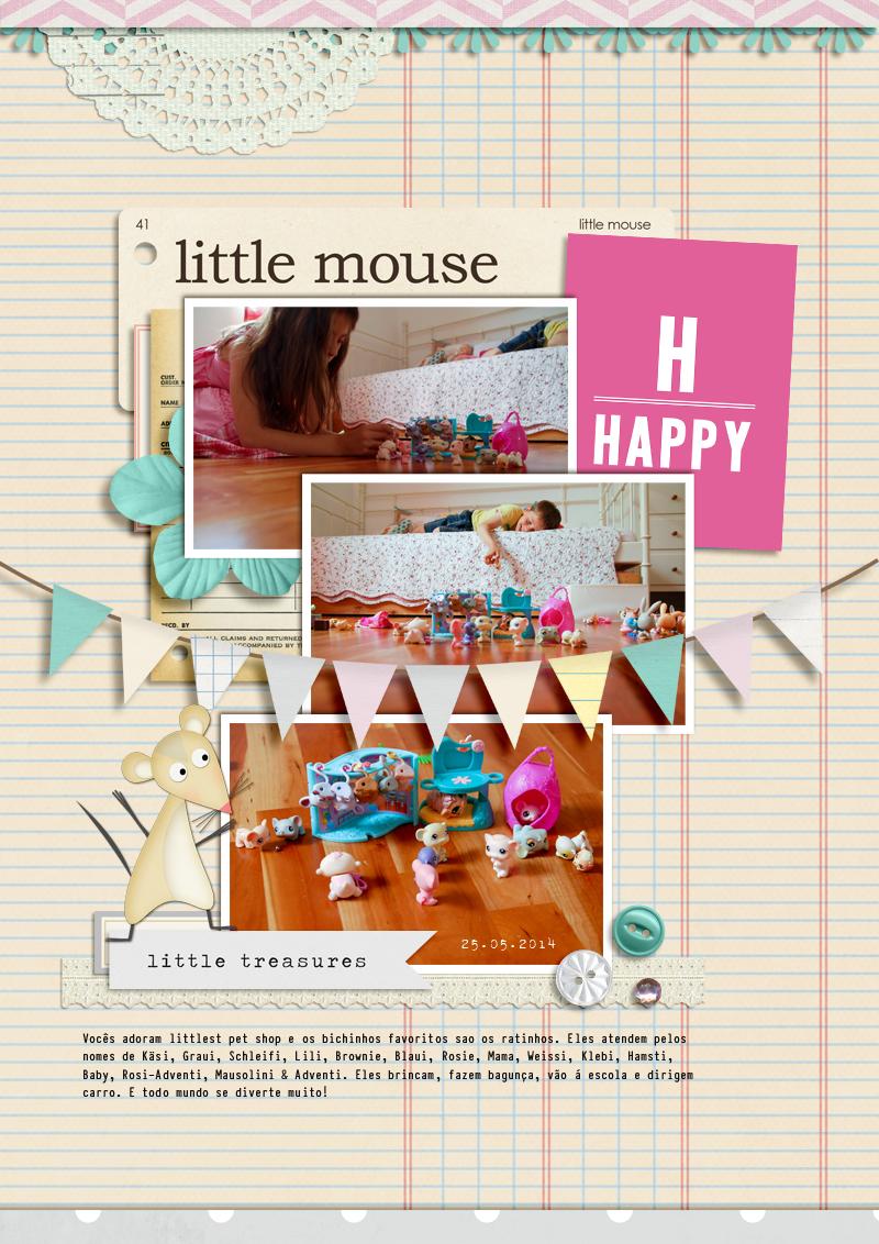 Little Happy Mouse