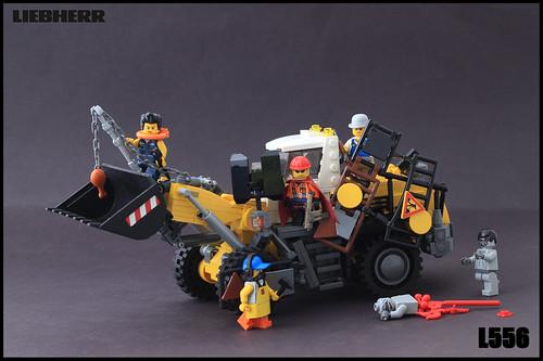 Liebherr L556, Zombie Killfest Style!