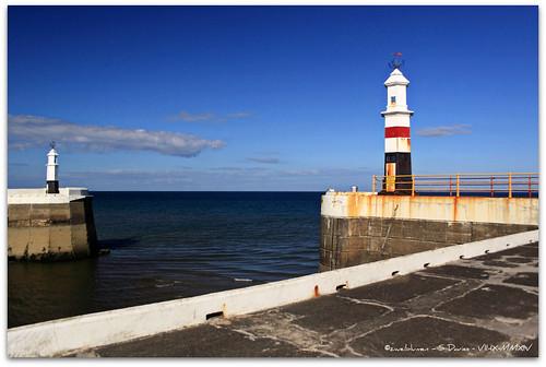 lighthouse harbour isleofman ramsey southpier 1876 polariser 1864 northpier ellanvannin canoneos50d rhumsaa zweiblumen