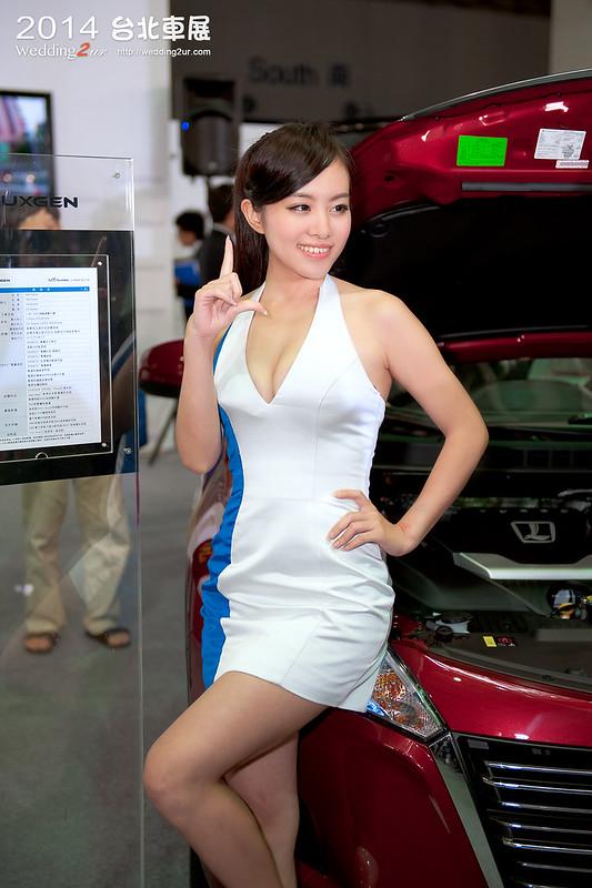 2014台北車展 show girl,54