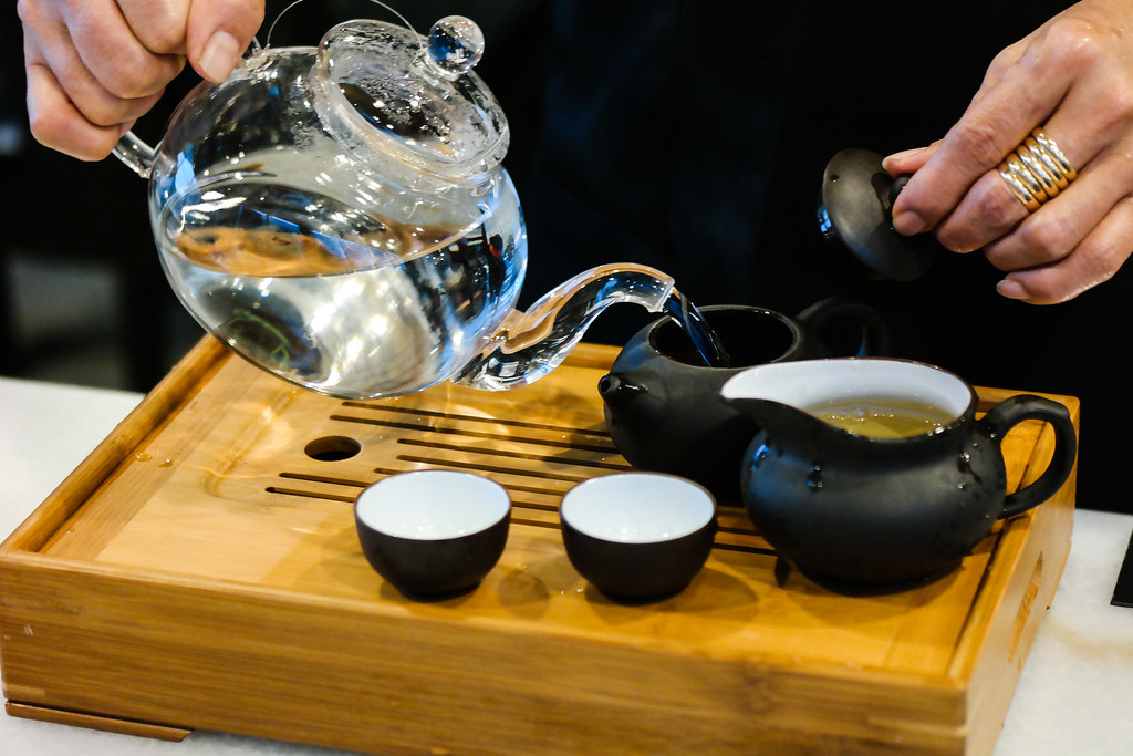 Rong Hua Bak Kut Teh: Tea
