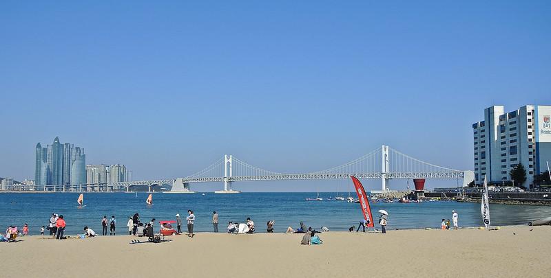 485-Busan-Gwangalli Beach and Gwangan Bridge