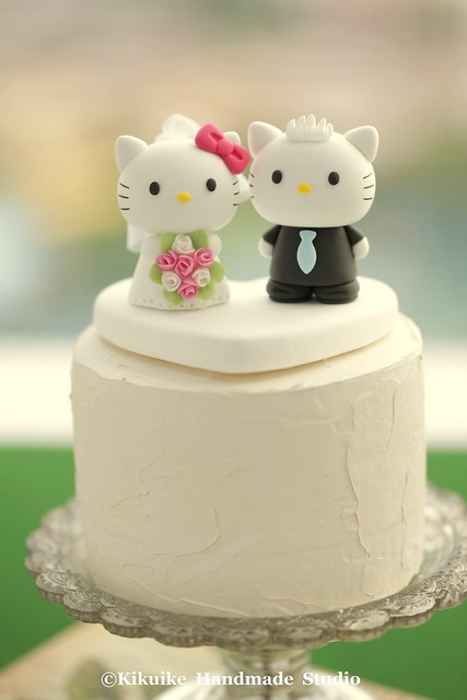 Wedding Cake Topper Hello Kitty Flickriver Photos From Charles Fukuyama