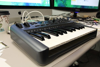 M-Audio USB 25-key keyboard controller