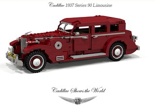 Cadillac 1937 Series 90 V-16 Limousine