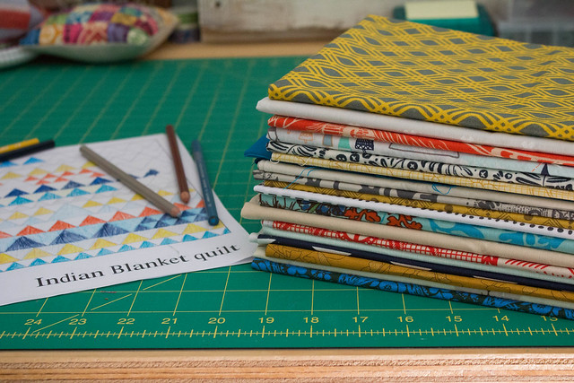 Angled Class: Indian Blanket Quilt