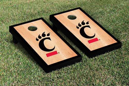 University of Cincinnati Bearcats Cornhole Game Set Hardcourt Version