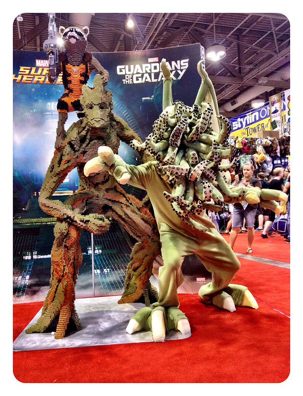 Rocket, Groot and Cthulhu FanExpo 2014