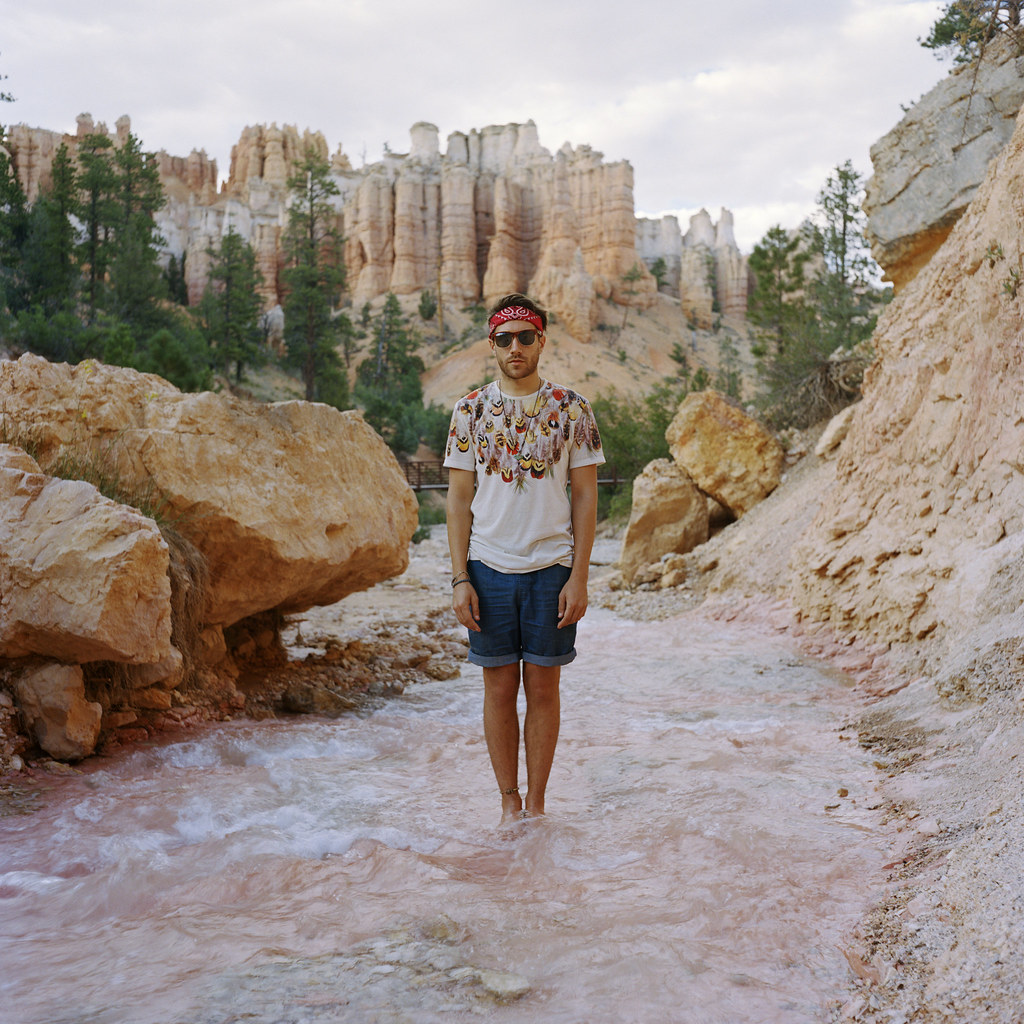Matt, Tropic Ditch, Bryce Canyon, Utah, 2014