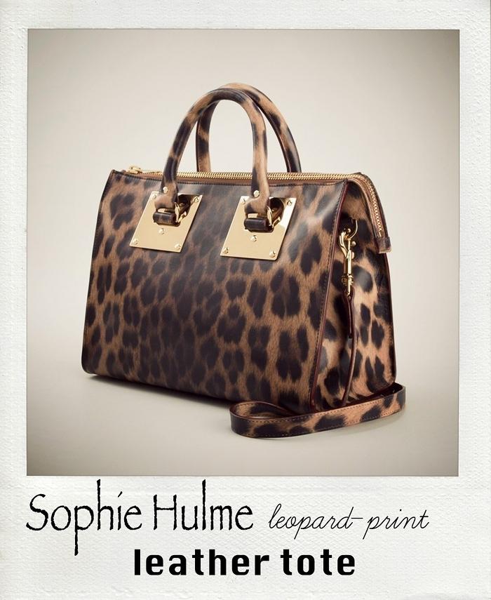 sophie hulme leopard tote