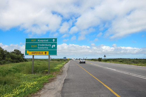 Detour for Vredenburg and Saldanha