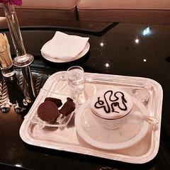 Camelccino at Le Café in Emirates Palace Hotel #InAbuDhabi