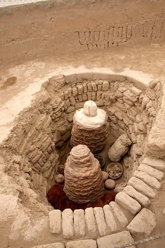 Huaca Pucllana ceremony