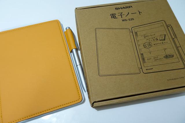SHARP シャープ 電子ノート WG-S20