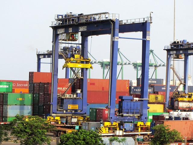 Crane @ Chennai Port