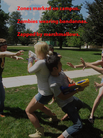 zombies vs humans haiku