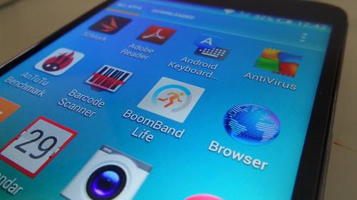 App ที่ Bundle มากับ Alcatel Onetouch Flash