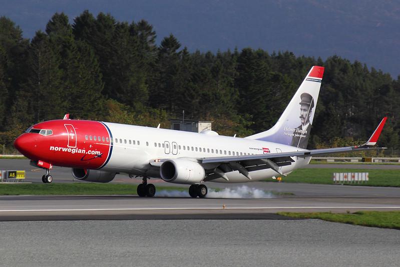 Norwegian - B738 - LN-NIB (1)