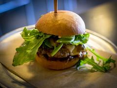 Mushroom Burger slider