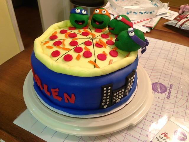TMNT Cake by Sweetpea's Sweet Cakes