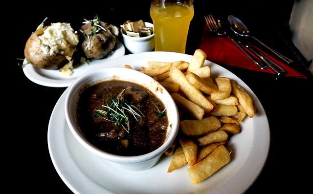 Beef Stroganogg Lunch