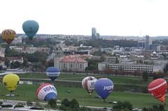 Liftoff of hot air balloons, 28.09.2013.