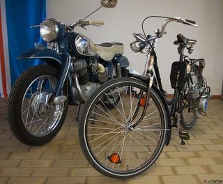 1954–59 MAW Hilfsmotor an NSU Fahrrad _a