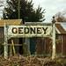 Gedney Station Nameboard