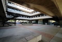Glendale Municipal Services Building, Merrill W. Baird, A.C. Martin Architects 1966