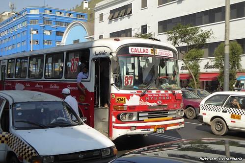 Hyundai FB500 Bus - Lima, Perú