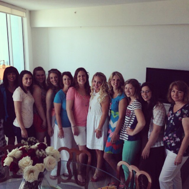 Beautiful friends at #cliquememiami party. Love this awesome group of ladies!