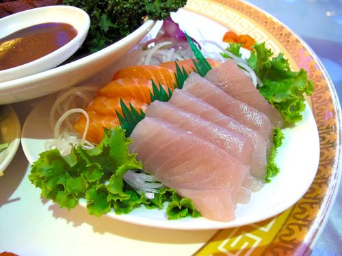 台南商務會館 母親節活動-雙色生魚片38