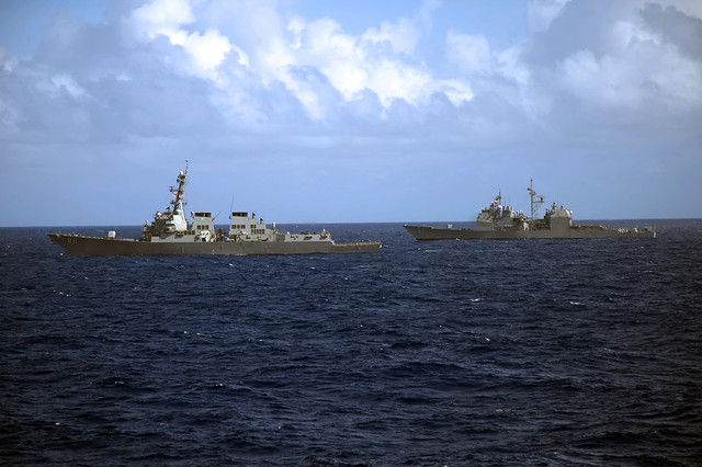 USS Lassen During Multip-Sail 2014