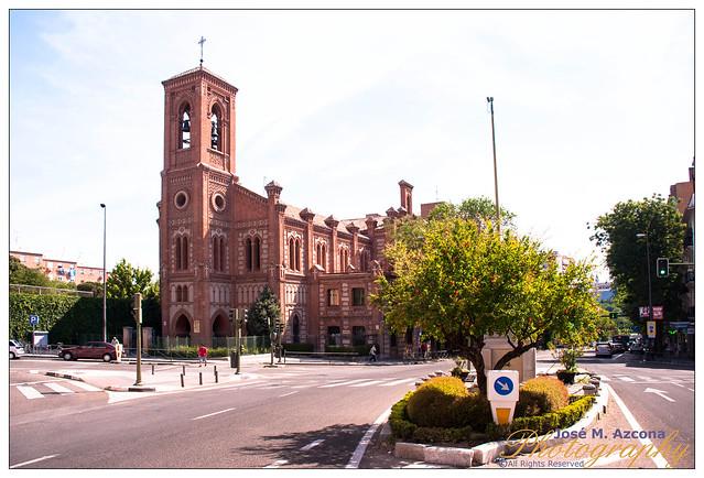 Madrid. Iglesia de Santa Cristina.