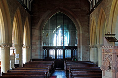 St Bridget's  -  Bridstow, Interior