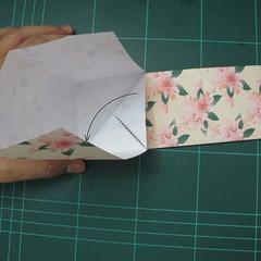 การพับกระดาษเป้นถุงของขวัญแบบไม่ใช้กาว (Origami Gift Bag) 008