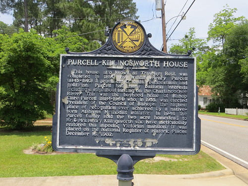 Purcell Killingsworth House Marker (HCC) Columbia AL