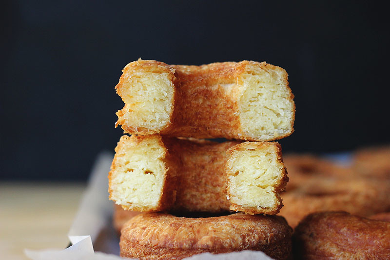 Fried Angel Biscuit Donuts