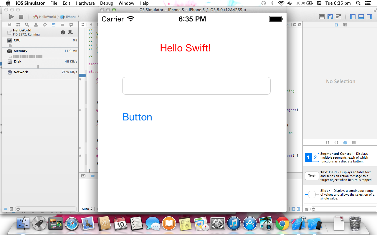 Hello Swift 2