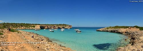 Cala Barques o Varques, Manacor (Islas Baleares, España)