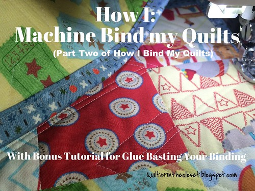 How I Machine Bind my Quilts