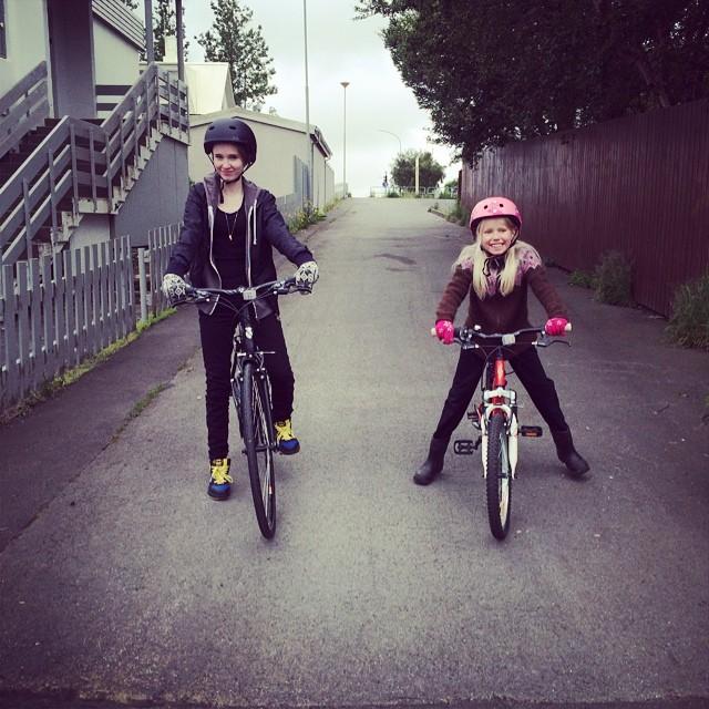 Biking sisters ❤️
