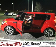 #HappyAnniversary to Rosy Myers on your 2013 #Kia #Soul from Mercado Salvador   at Southwest Kia Dallas!
