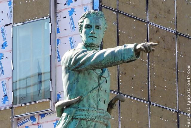 Jean-Olivier Chénier statue (detail) 2