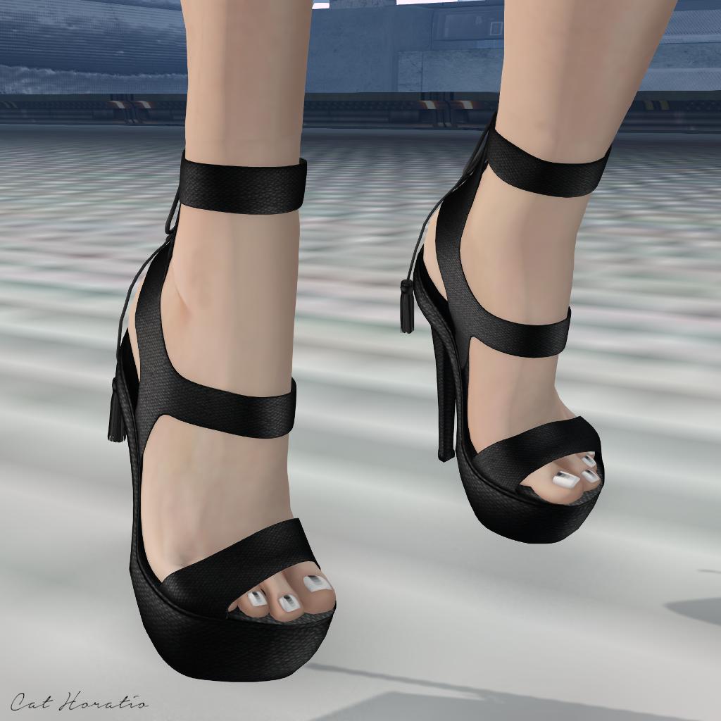In those heels
