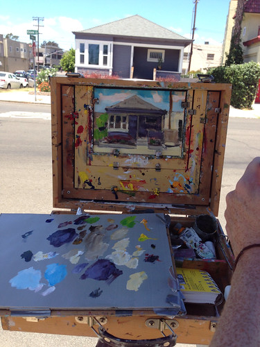 Painting in hillcrest